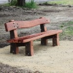 Red Gum Sleeper bench