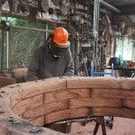 iron bark sleepers sculpture